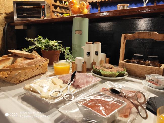 desayunos posada de Candelario